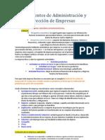 0fundamentos de Administracion y Direccion de Empresas