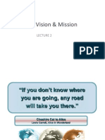 LECTURE 2 COMPANY VISION & MISSION