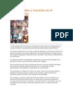 Homosexuales y Travestis en El Tawantinsuyu