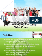 sales force managment