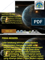 Fisika Modern Kelompok 4