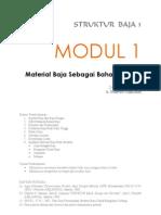Modul 1 Material Baja Sebagai Bahan Struktur