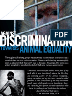 Reject Discrimination, Embrace Animal Equality