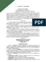 Decretos 37111-MEIC-Reglamento General ley 8262-Fortalecimiento Pequeñas-Medianas Empresas-La Gaceta 97-22 MAY-2006