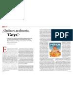 ¿Quién es, realmente, 'Goya'?