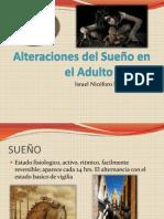 Alteraciones del Sueño en el Adulto Mayor