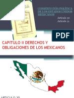 Capitulo II dela Constitucion mexicana
