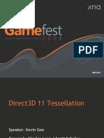 Direct3D 11 Tessellation