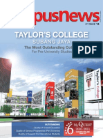 TAYLOR's Campus News 2011 Issue 3
