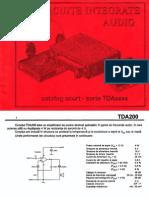 C.I. Audio Seria TDAxxxx - Catalog Scurt