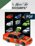Minichamps Catalogue Edition 1 2003