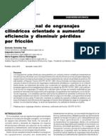 DISEÑO RACIONAL DE ENGRANAJES CILINDRICOS