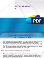 Methods of Accelarating Cash-Inflow
