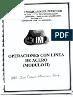 Manual Operaciones de Linea de Acero II