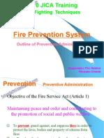 Fire Prevention System(Prevention)
