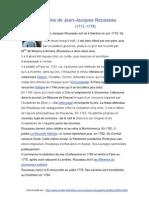 Biographie Rousseau