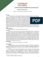 O conceito e a instanciação de obra em catalogação