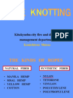 ROPE KNOTTING