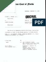 FL Sup Ct Case Number Op-76604