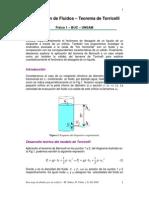 Teorema de Torricelli (Fluidos)