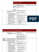 OHSAS 18001 Client Self Assessment Checklist