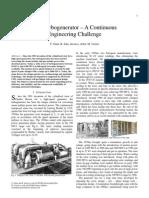 Designing Turbogenerator