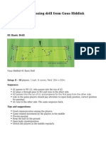 Soccer Drill From Guus Hiddink