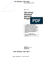 US Army Physical Security Program