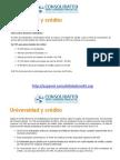 Universidad y Crédito