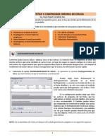Práctica de desfragmentación y scandisk