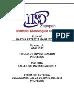 Protocolo de Itsz Inventarios