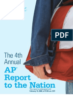 AP Report to the Nation 2008