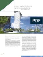 LMD18 sustentable Un complejo creativo-industrial completamente sustentable