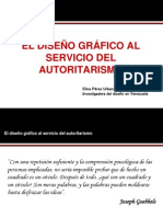 EL DISEÑO GRÁFICO AL SERVICIO DEL AUTORITARISMO