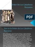 La Orden de Los Caballeros Romanos