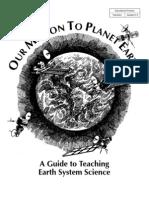 Planet Earth Lesson Plans