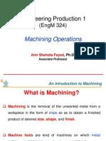 Machining Operations 2-1