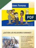 Relaciones Humanas Salud Ocupacional PONENCIA MINSA