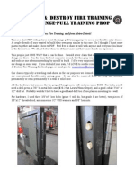 Firefighter's Forcible Entry Hinge-Pull Prop How-to-Build