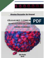 Células MCF-7 como modelo 3D no estudo de câncer de mama humano_MCF-7 cells as a 3d model in the study of human breast cancer.