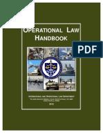 Operational Law Handbook 2012