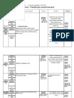 Planificação 4ano Expressões 2011-2012