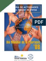 Dossier Prensa Día Mundial Psoriasis 2008