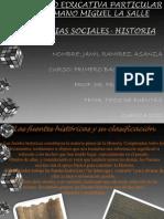 """Yamil Ramirez  trabajo de Historia  1 bachillerato """"A"""""""