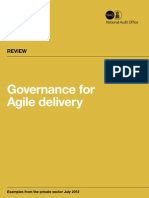 Governance Agile Delivery
