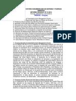 Informe Uruguay 31-2012