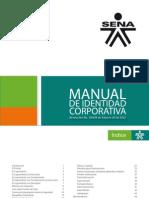 2012 Manual Imagen Corporativa SENA-2012