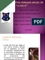 Maria Dolores Rojas- Tipos de Fuentes