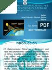 Calentamiento Global y su marco jurídico en Nicaragua
