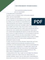 Afinal, o que é ser empreendedor - Fernando Dolabela
